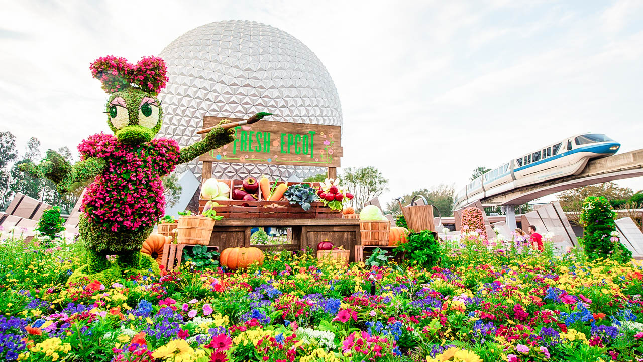 2018 epcot flower and garden festival brb going to disney for Flowers and gardens pictures