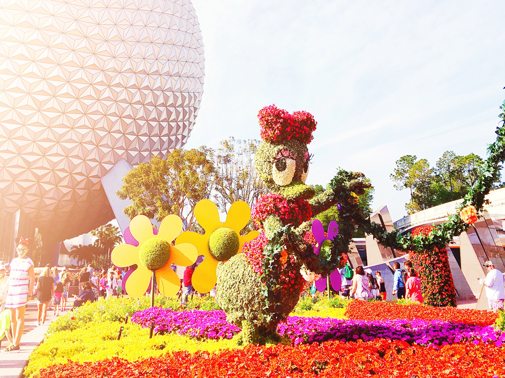 2018 Epcot Flower And Garden Festival Menus Brb Going To Disney