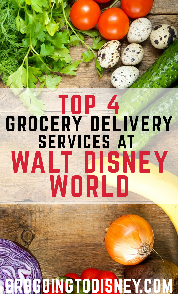 How to Get Groceries Delivered at Disney World - BRB Going