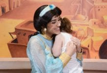 Where to find Jasmine at Disney World