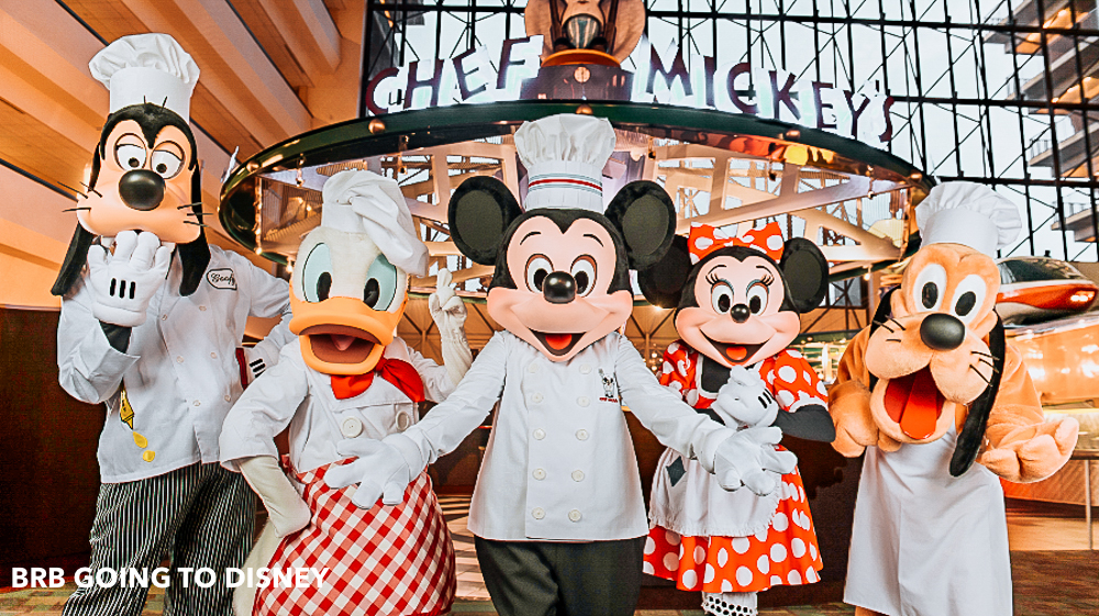 3 Favorite Disney World Breakfasts with Mickey - BRB Going to Disney